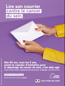 Lire son courrier contre le cancer du sein